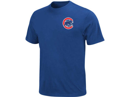 Chicago Cubs Majestic MLB Youth Official Wordmark T-Shirt