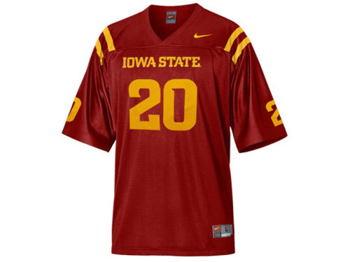 Iowa State Cyclones #20 Haddad Brands NCAA Kids Football Jersey