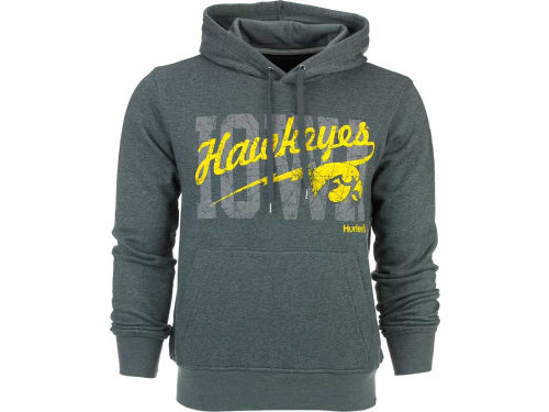 Iowa Hawkeyes NCAA Hurley Eric Fleece Hoodie