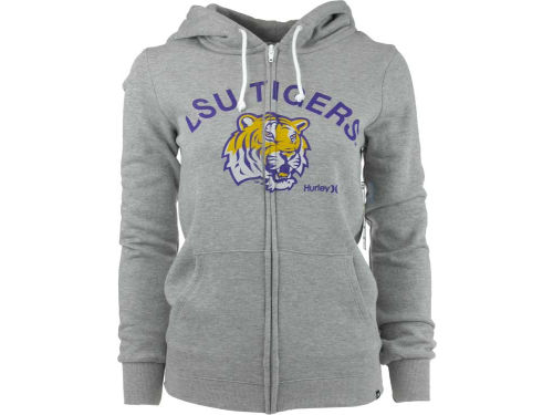 LSU Tigers NCAA Ladies Hurley Slim Zip Hoodie