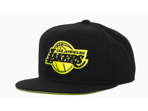 Los Angeles Lakers adidas NBA Bright Lights Snapback Cap Hats