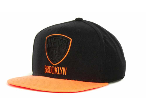 Brooklyn Nets adidas NBA Bright Lights Snapback Cap Hats