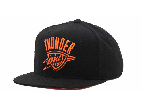 Oklahoma City Thunder adidas NBA Bright Lights Snapback Cap Hats