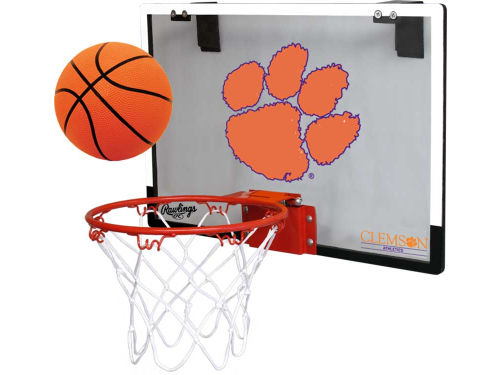 Clemson Tigers Jarden Sports Game On Polycarb Hoop Set