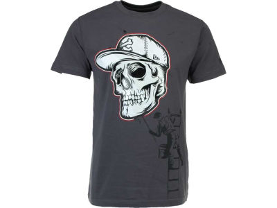 New Era Branded Skull Stencil T-Shirt