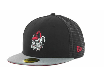 Georgia Bulldogs NCAA Grid Game 59FIFTY Cap Hats