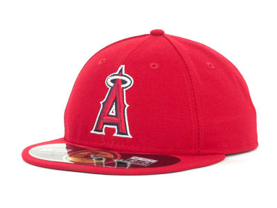 Los Angeles Angels of Anaheim MLB Low Crown AC Performance 59FIFTY Cap Hats