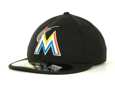 Miami Marlins MLB Low Crown AC Performance 59FIFTY Cap Hats