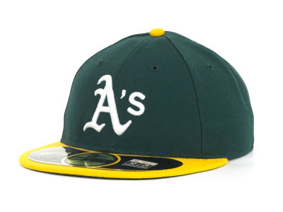 Oakland Athletics MLB Low Crown AC Performance 59FIFTY Cap Hats