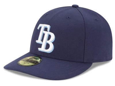 Tampa Bay Rays MLB Low Crown AC Performance 59FIFTY Cap Hats