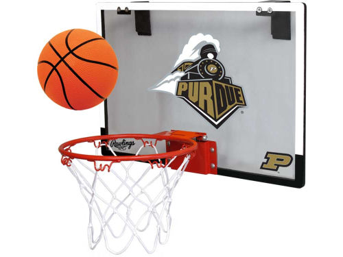 Purdue Boilermakers Game On Polycarb Hoop Set