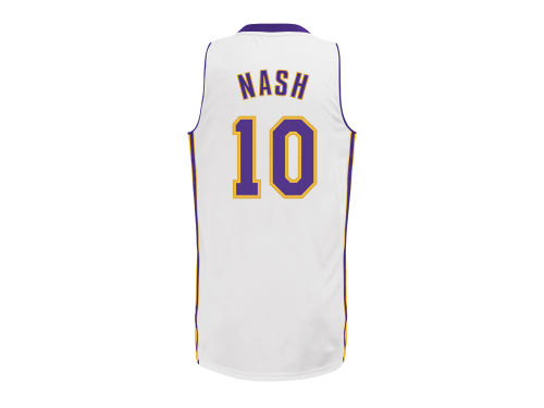 Los Angeles Lakers Steve Nash adidas NBA Revolution 30 Swingman Jersey