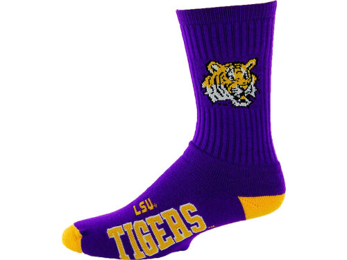 LSU Tigers NCAA Deuce Sock