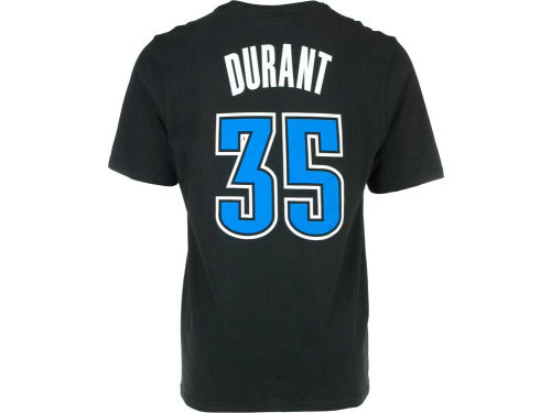 Oklahoma City Thunder Kevin Durant adidas NBA Neon Player T-Shirt
