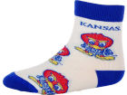 Kansas Jayhawks For Bare Feet NCAA Infant All Over Sock Apparel & Accessories