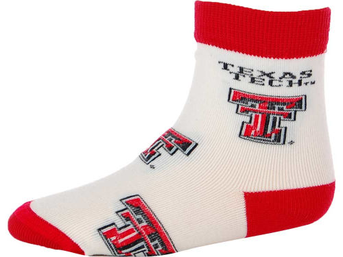 Texas Tech Red Raiders For Bare Feet NCAA Infant All Over Sock