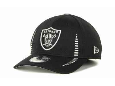 Oakland Raiders Training Camp Black 39THIRTY Cap Hats