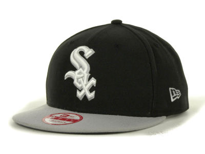 Chicago White Sox MLB Basic Leather Strapback Cap Hats