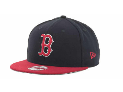 Boston Red Sox MLB Basic Leather Strapback Cap Hats