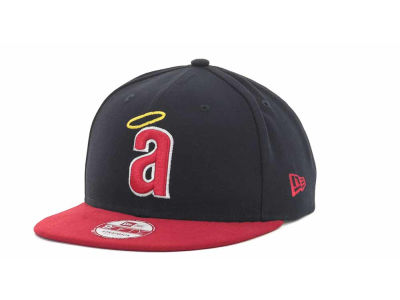 Los Angeles Angels of Anaheim MLB Basic Leather Strapback Cap Hats