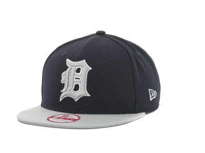 Detroit Tigers MLB Basic Leather Strapback Cap Hats