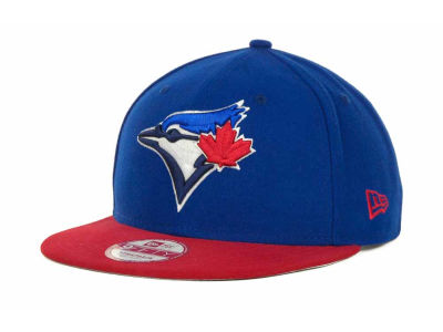 Toronto Blue Jays MLB Basic Leather Strapback Cap Hats