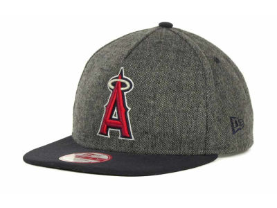 Los Angeles Angels of Anaheim MLB Tweed Strapback 9FIFTY Cap Hats