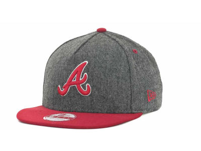 Atlanta Braves MLB Tweed Strapback 9FIFTY Cap Hats