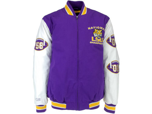 LSU Tigers GIII NCAA Hall of Fame Commemorative Jacket