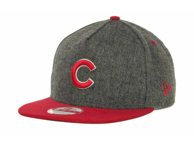Chicago Cubs MLB Tweed Strapback 9FIFTY Cap Hats