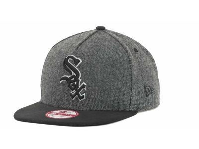 Chicago White Sox MLB Tweed Strapback 9FIFTY Cap Hats
