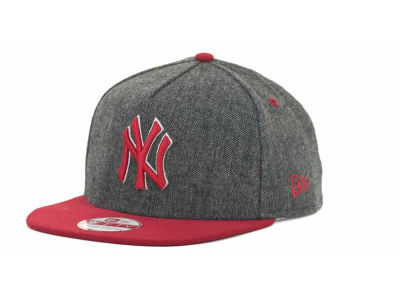 New York Yankees MLB Tweed Strapback 9FIFTY Cap Hats