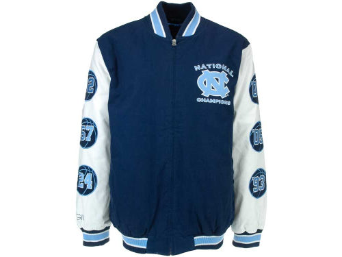 North Carolina Tar Heels GIII NCAA Hall of Fame Commemorative Jacket