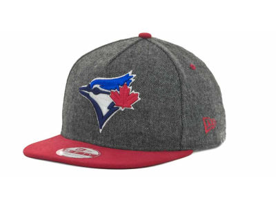 Toronto Blue Jays MLB Tweed Strapback 9FIFTY Cap Hats