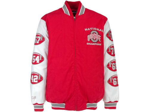 Ohio State Buckeyes GIII NCAA Hall of Fame Commemorative Jacket