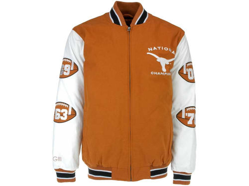 Texas Longhorns GIII NCAA Hall of Fame Commemorative Jacket