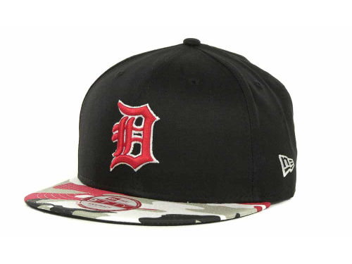 Detroit Tigers New Era MLB Camo Strapback 9FIFTY Cap Hats