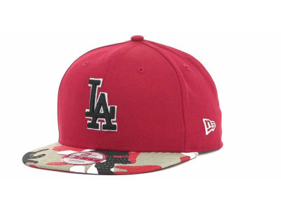 Los Angeles Dodgers MLB Camo Strapback 9FIFTY Cap Hats