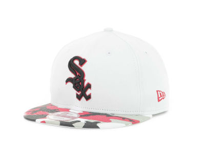 Chicago White Sox MLB Camo Strapback 9FIFTY Cap Hats