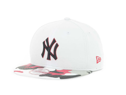 New York Yankees New Era MLB Camo Strapback 9FIFTY Cap Hats