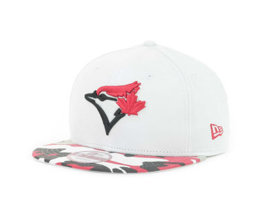 Toronto Blue Jays MLB Camo Strapback 9FIFTY Cap Hats