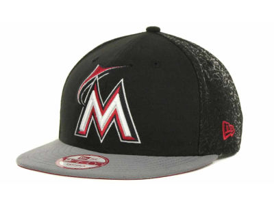 Miami Marlins MLB Elegant Snapback 9FIFTY Cap Hats