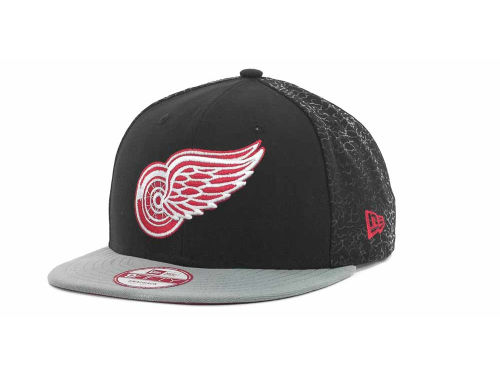 Detroit Red Wings New Era NHL Elegant Snapback 9FIFTY Cap Hats