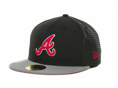 Atlanta Braves MLB Grid Game 59FIFTY Cap Hats