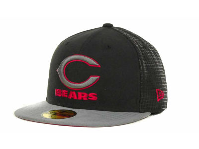 Chicago Bears NFL Grid Game 59FIFTY Cap Hats