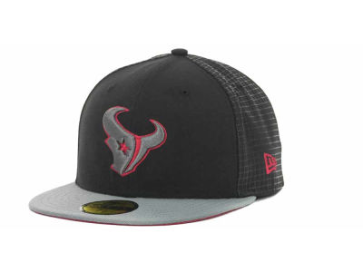 Houston Texans NFL Grid Game 59FIFTY Cap Hats