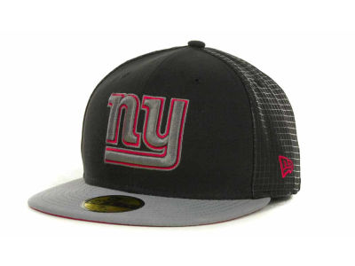 New York Giants NFL Grid Game 59FIFTY Cap Hats
