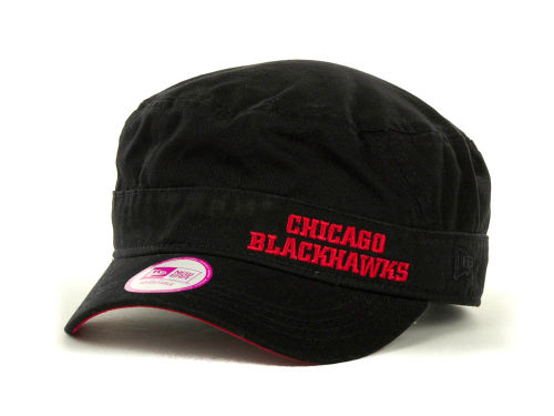 Chicago Blackhawks New Era NHL Womens Team Military Hats