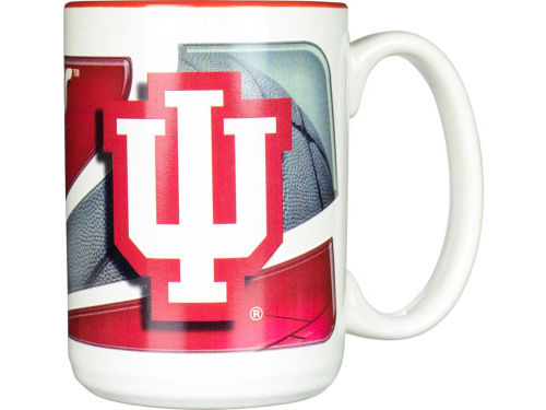 Indiana Hoosiers 15oz. Two Tone Mug