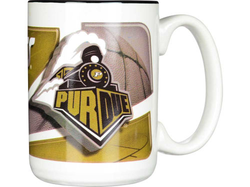 Purdue Boilermakers 15oz. Two Tone Mug